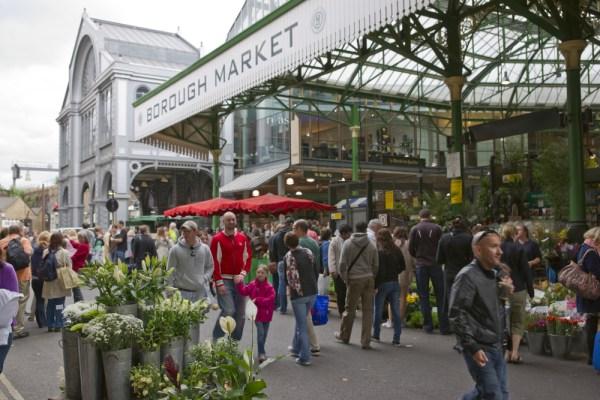 London Shopping Guide - borough Market