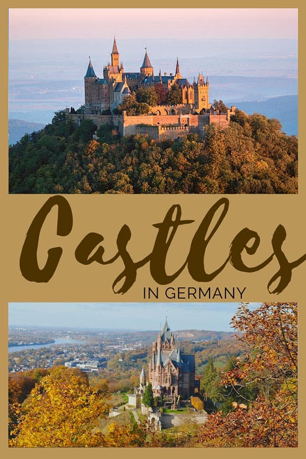 The best Fairytale castles in Southern Germany. Here's our guide to help you choose the best castles in southern Germany to visit on your Germany road trip. Here are our favourite castles in southern Germany! #castles #germany #southerngermany #roadtrip #castle #travel #itinerary #map