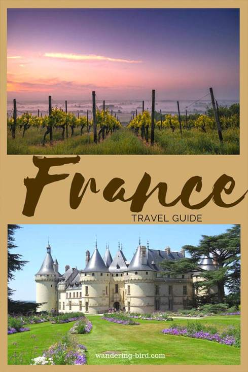 Looking to travel France? There are so many incredible castles, beaches and food- it's almost impossible to choose where to go. The best plan is definitely a road trip to travel France. This post explains everything you need to bring and how to plan your trip! #France #travel #roadtrip #traveltips