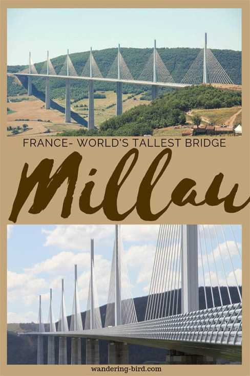 Heading to France? Want to visit the world's tallest bridge? Millau Viaduct is AMAZING- and you can drive across it. Here's everything you need to know. #millau #viaduct #france #bridge