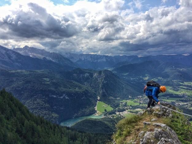 Klettersteig near Königssee Bavaria Germany Wandering Chocobo