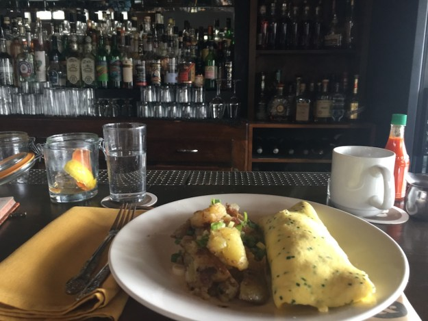 Best farm to table hipster brunch spot in Chicago at Longman & Eagle.