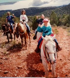 Horseback riding in Sedona Arizona
