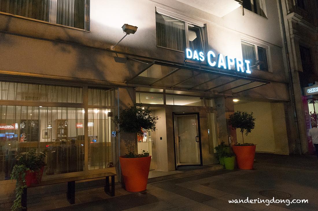 [維也納自由行]維也納溫馨的卡普里酒店 Das Capri Hotel - 噹噹漫遊