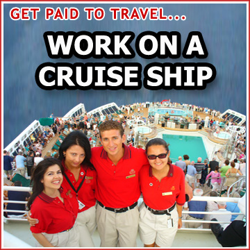 Job On Board Cruise Ships - How to Work on a Cruise Ship
