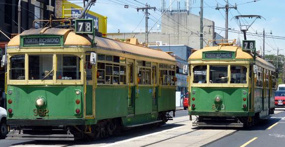 Trams in Melbourne