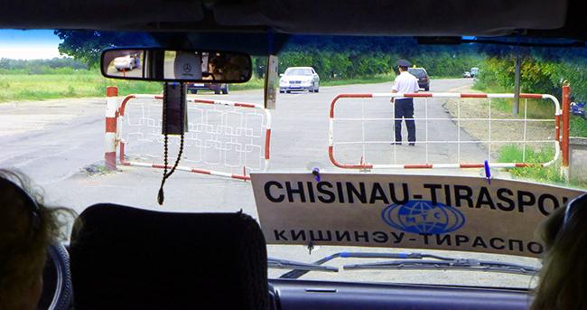 Border of Moldova and Transnistria
