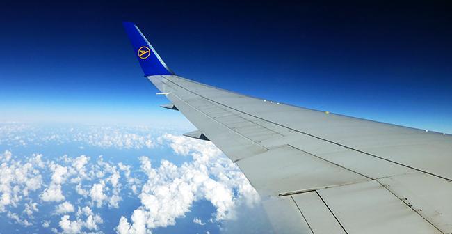 View from Condor flight