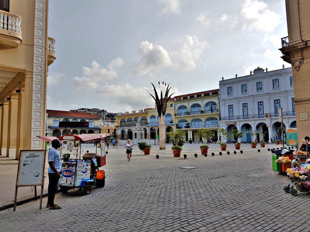 Exploring Havana - Plaza in Old Havana