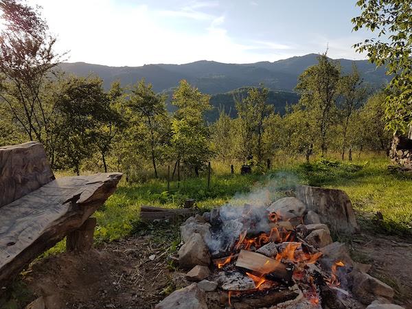 Stay in a Romanian village