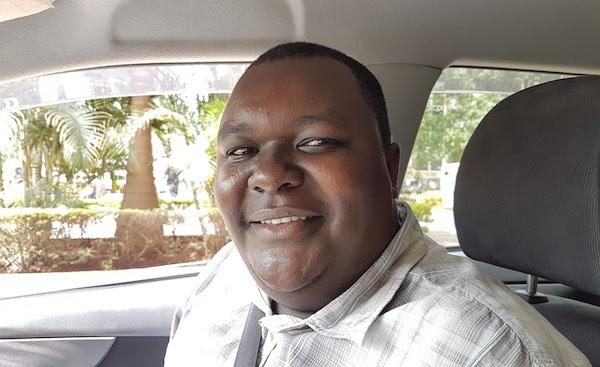 Visit Nairobi - city Uber driver