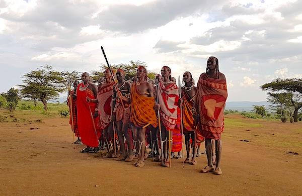 Masai Mara safari - Maasai village
