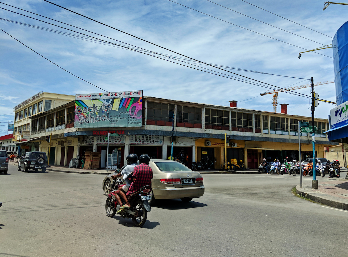 Travel Guide to Dili - city center intersection