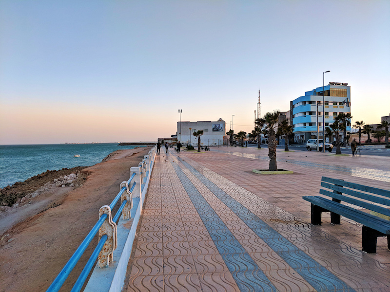Travel to Dakhla - boardwalk