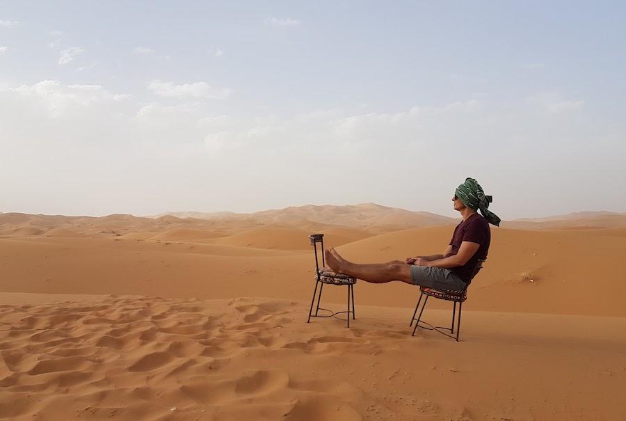 Wandering Earl - About Me - Sahara Desert