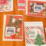 homemade Christmas cards