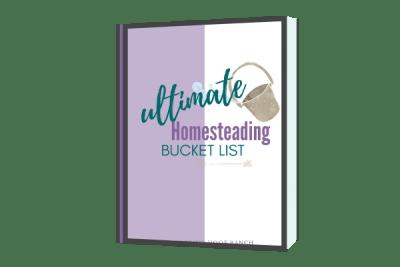 homesteading skills bucket list