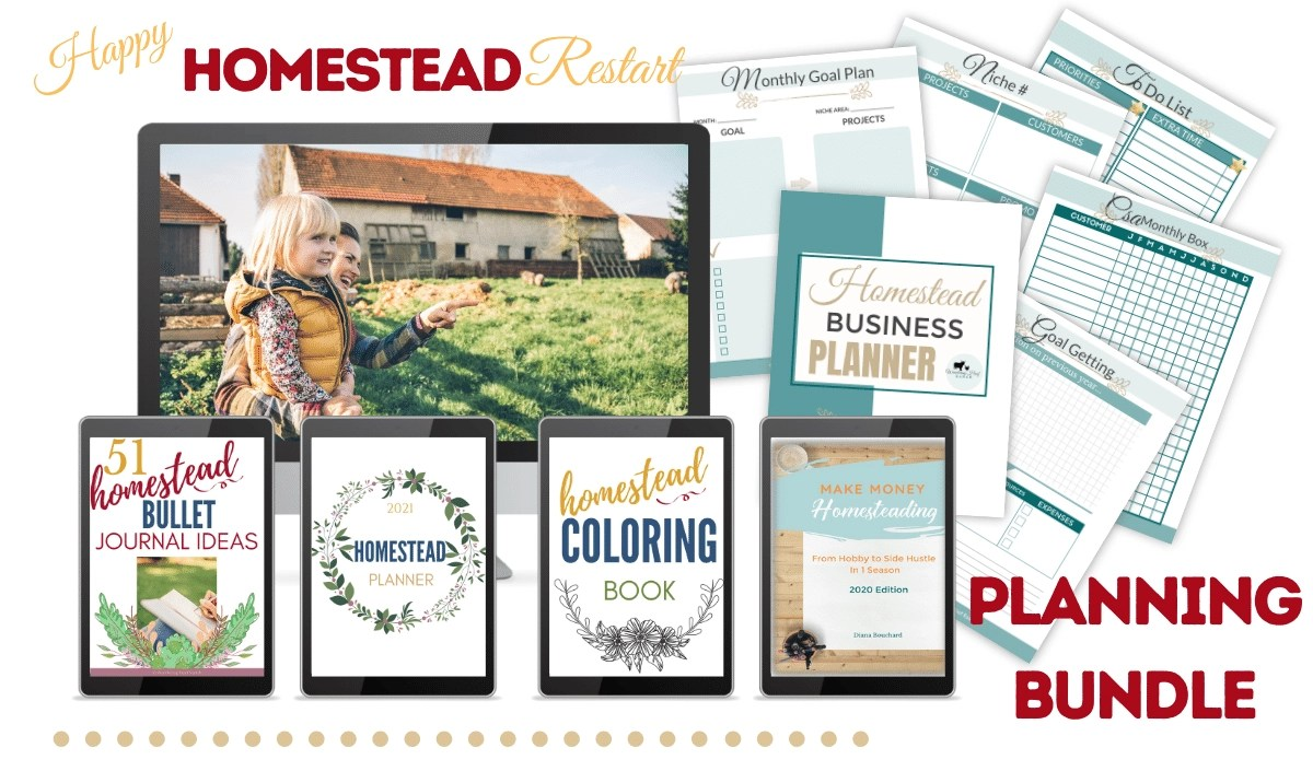 happy homestead planning bundle