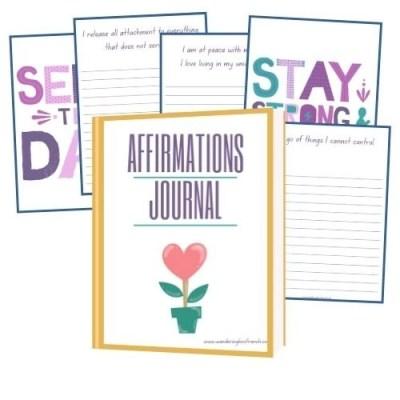 Positive Affirmations Journal