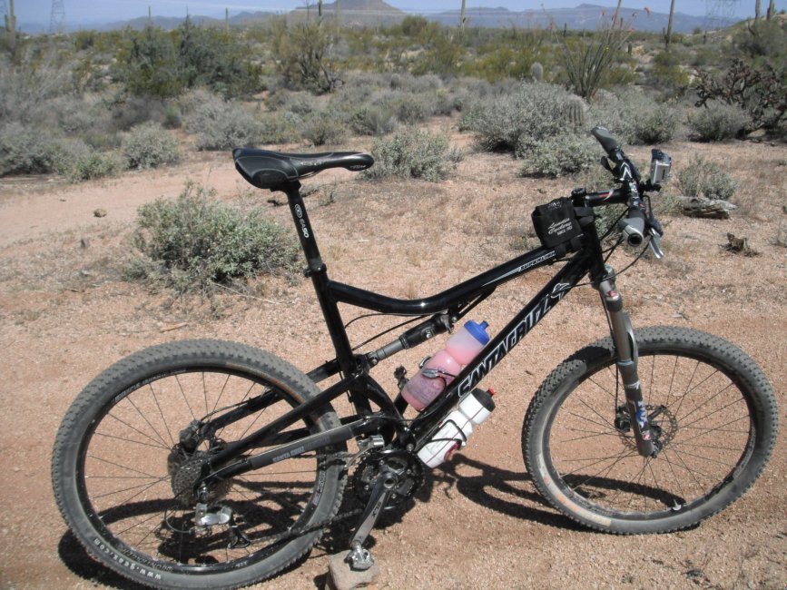 santa cruza superlight, pima & dynamite, mountain biking, arizona, adventure bicycle company, wandering justin