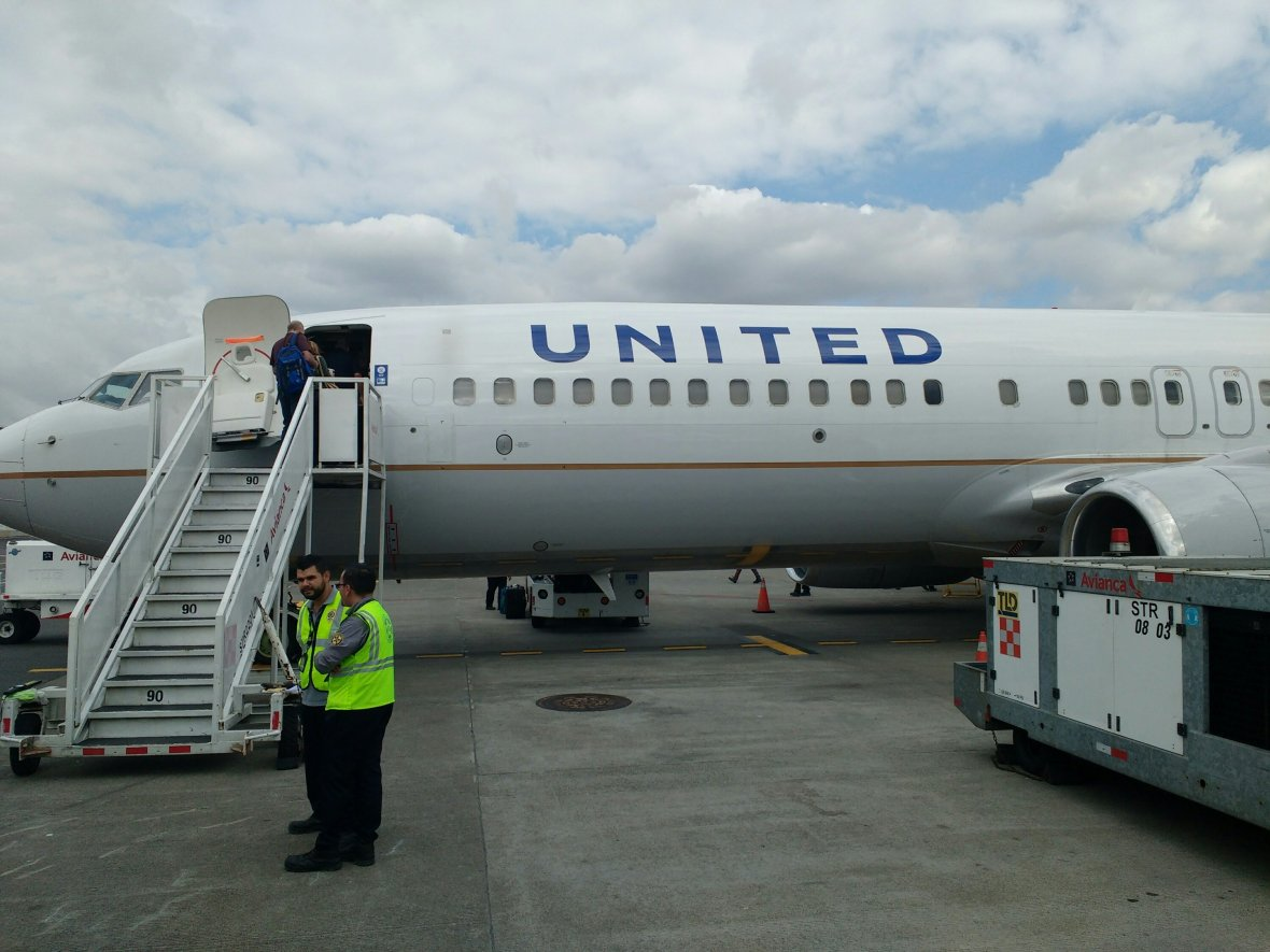 united airlines costa rica