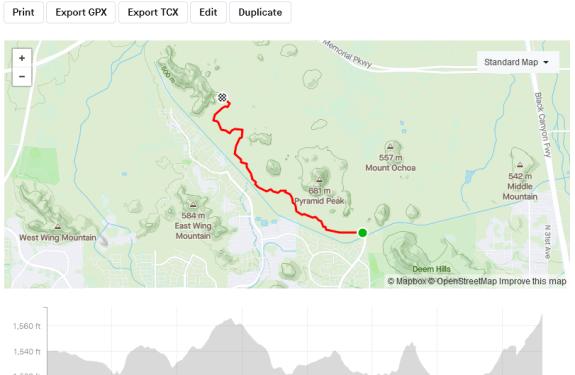 Pyramid Peak Mountain Bike Trails