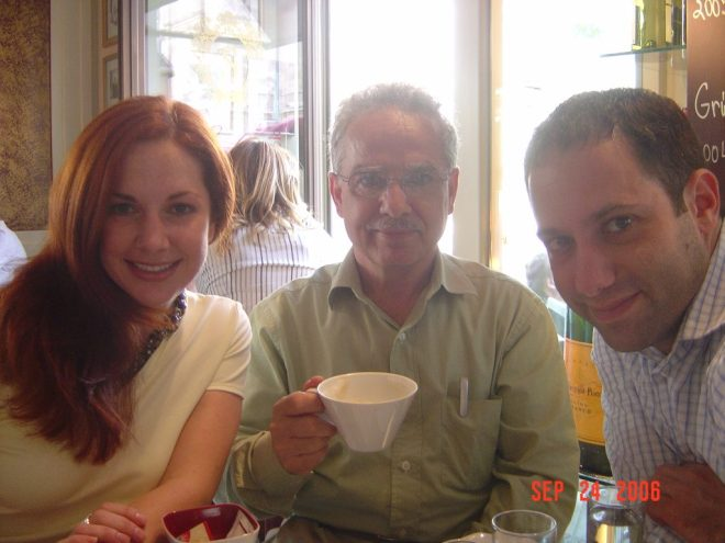 Having Viennese Coffe