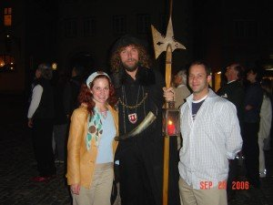 The Night-Watch man in Rottenburg