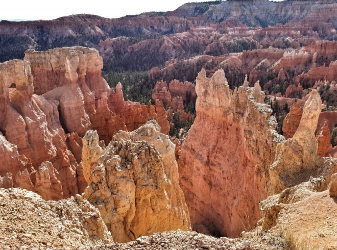 These weird rocks are called hoodoos