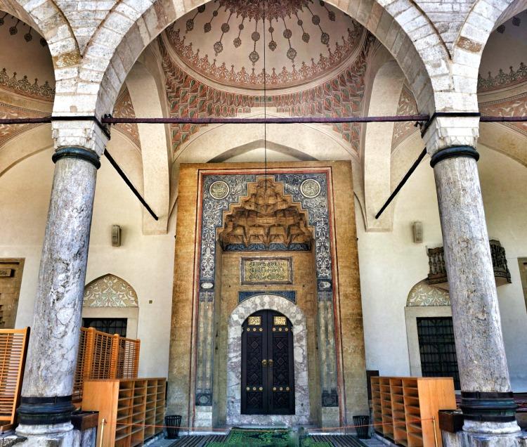 Sarajevo Mosque Entrance