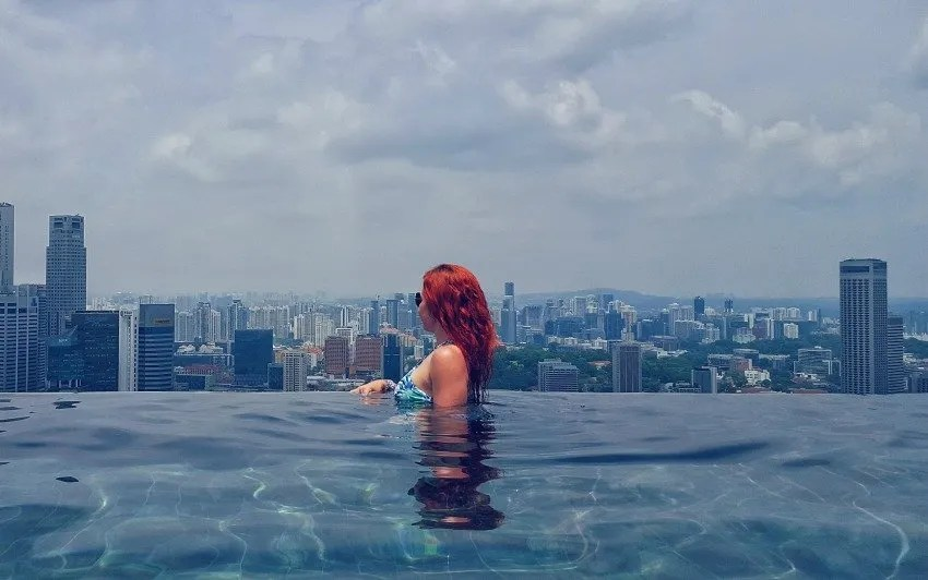 Marina Bay Sands Pool