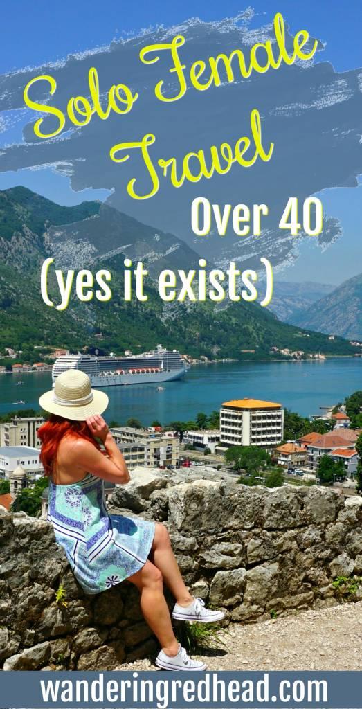 Solo Female Travel Over 40