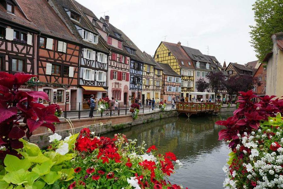 Strasbourg and Colmar