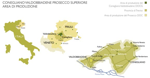 Prosecco Region Italy Map.Bubbly Time Guide To The Prosecco Road In Italy Wanderingredhead