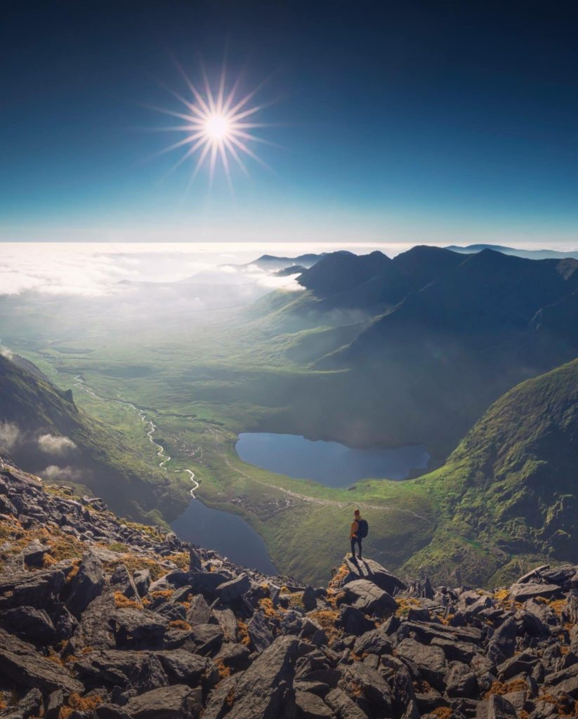 Carrauntoohil Ireland, Photo (perhaps) by redditor ihaveadarksoul