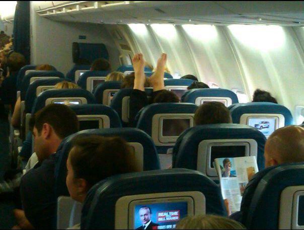 Airplane Feet