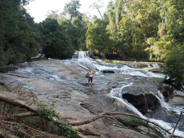 Wachirathan Waterfall in Thailand