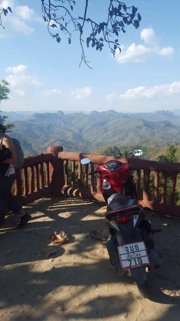 Our motorbike for the Mae Hong Son Loop