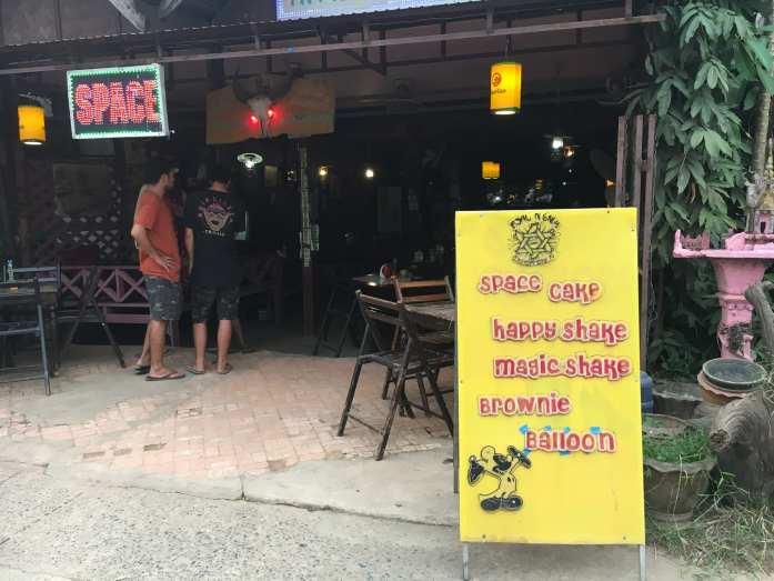 Space Bar in Vang Vieng, Laos