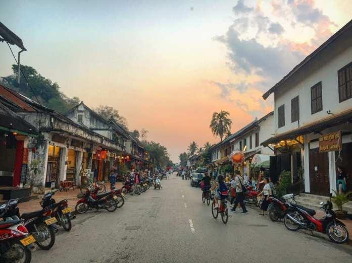 The old quarter of Luang Prabang