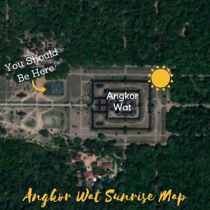 Where To See Angkor Wat's Sunrise