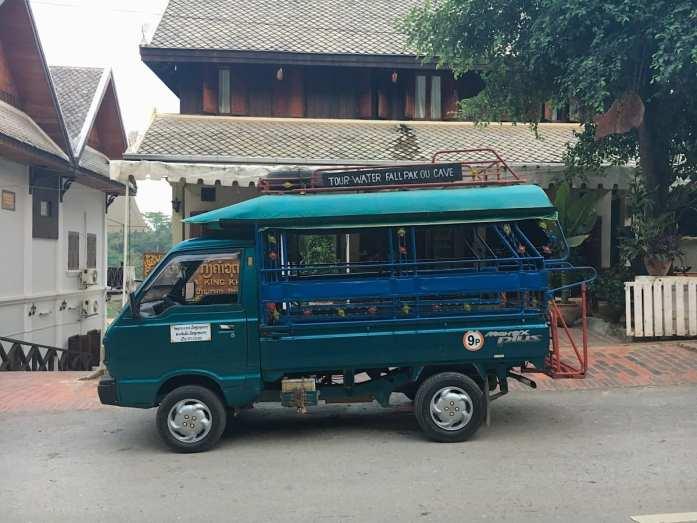 Songthaew in Luang Prabang