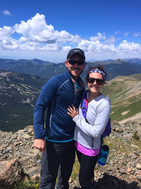 Wandering Stus at Wheeler Peak Summit
