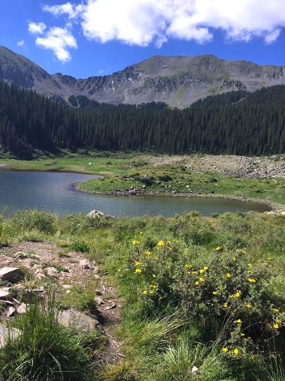 Beautiful Williams Lake in Taos
