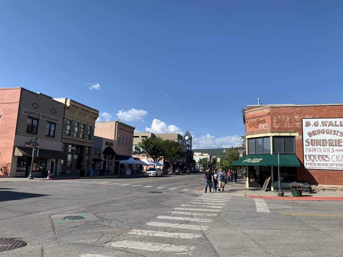The streets of Durango's Historic Downtown