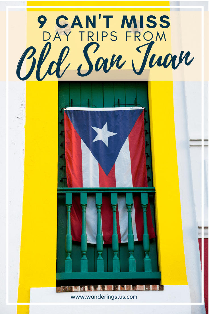 Puerto Rico Day Trips Pin