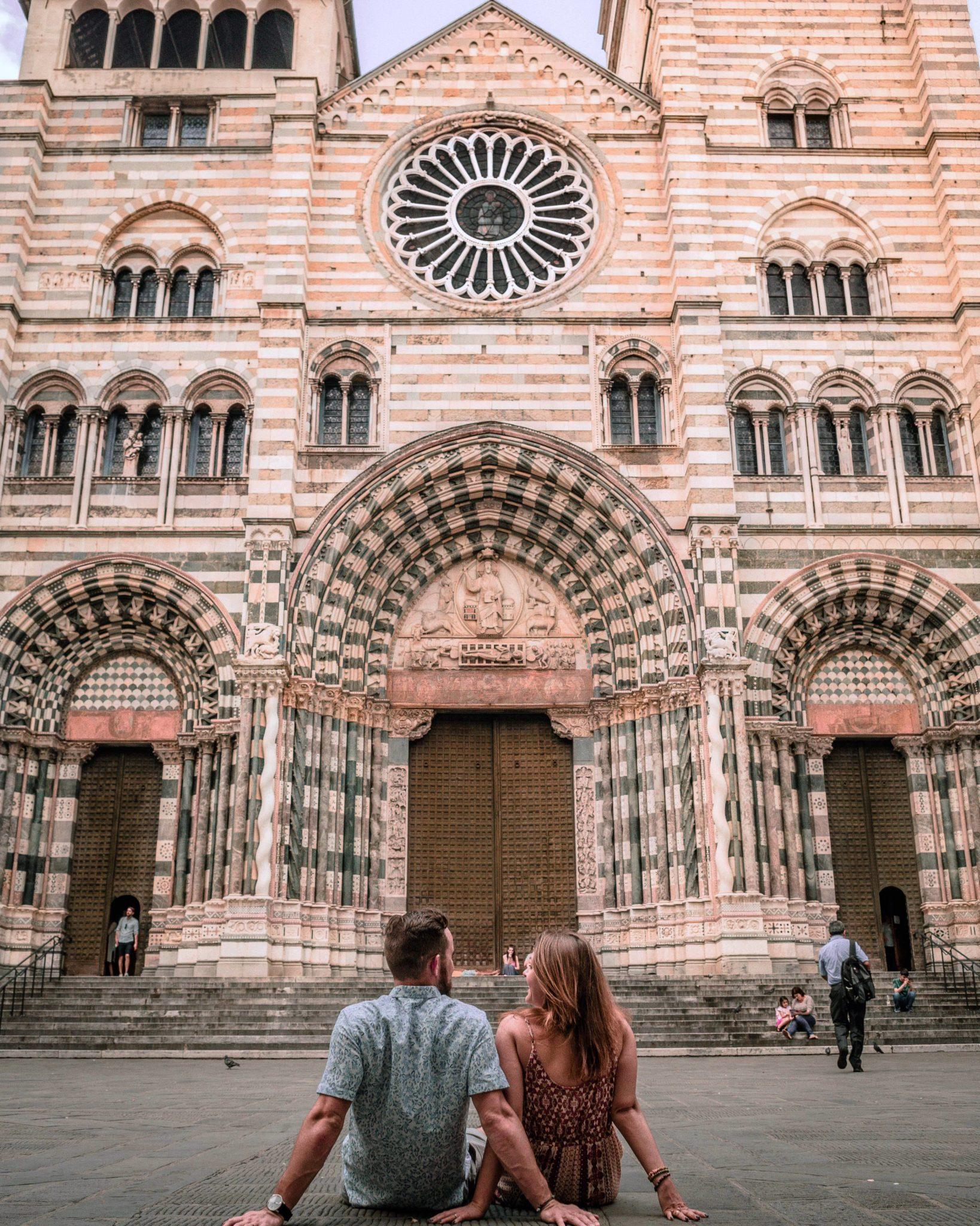San Lorenzo cathedral in Genoa