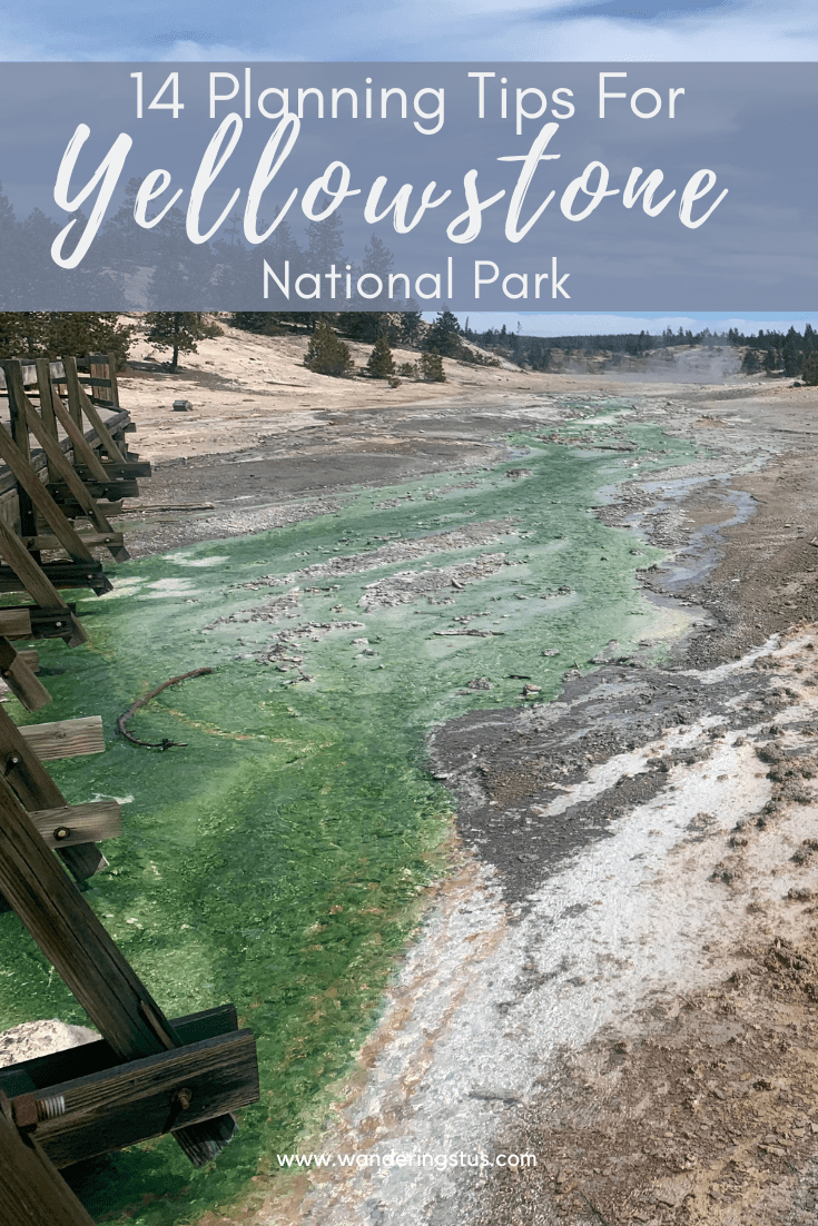 Yellowstone Tips Pin 1