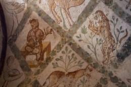 Frescoes of animals