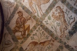 Frescoes of animals